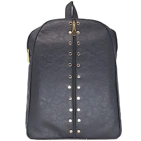 Bizarre Vogue Stylish College Bags Backpacks For Girls (Black,BV1085)