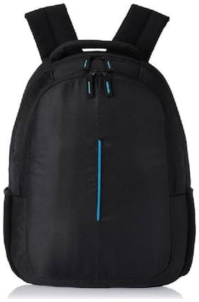 Bijrd Black Polyester Backpack