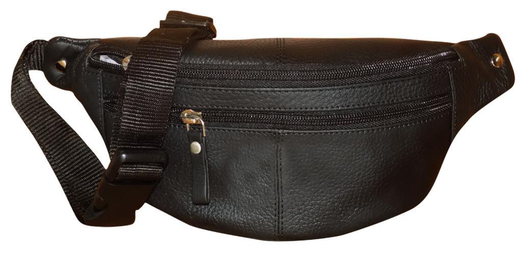 https   assetscdn1.paytm.com images catalog product . Black Genuine Leather  Stylish Travel Toiletry Kit Waist Bag For Men 73b39195cb4d5