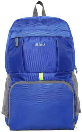 Bleu Latest Design Foldable School Bag - Blue
