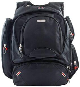 Bleu Multi Utility 16.5-inch Laptop Backpack (445) - Black