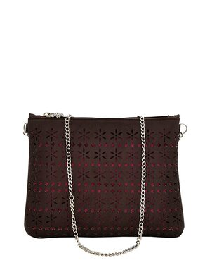 Blizzard Brown P.U. Sling Bag