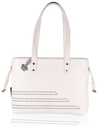 2262d6889cc Buy Blizzard Women s Stylish White Handbag Online at Low Prices in ...