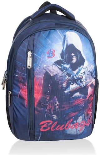BLUTECH Blue Waterproof Canvas Backpack