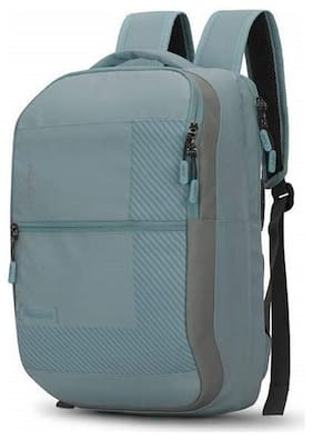 Skybags Blue Waterproof Polyester Backpack