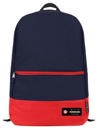 Bonmaro Blue And Red Backpack