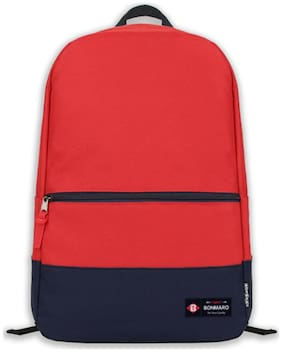 Bonmaro Red Waterproof Polyester Backpack