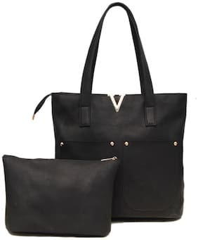 Borse KCPM22 Black Tote Handbag