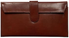 Borse Women Brown Leather Wallet