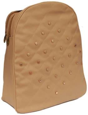 Borse Beige PU Backpack