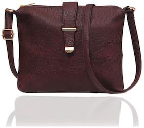 Borse M70 Maroon Centre Clip Sling Bag