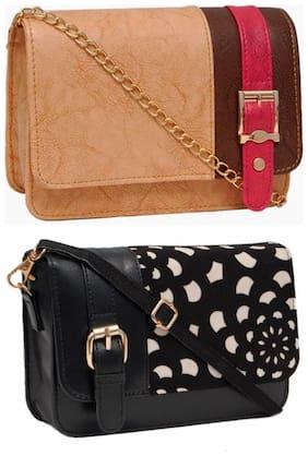 Regular Sling Bag ( Beige )