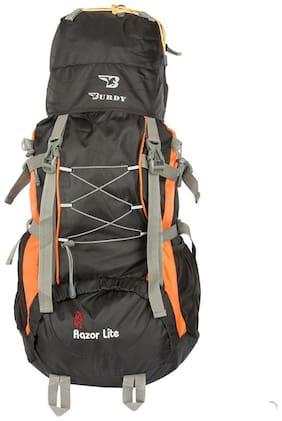 BURDY Orange Polyester Backpack