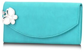 Butterflies Blue Wallet