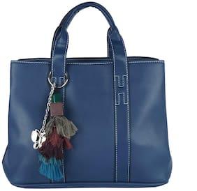 Butterflies Women Handbag (Blue) (BNS 749#DBL)