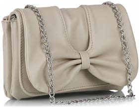 Butterflies Multi PU Solid Sling Bag