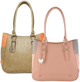 Butterflies Multi Faux Leather Handheld Bag