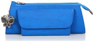 Butterflies Blue Wallet (25 Piece)