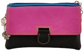 Butterflies Women Solid Polyester - Clutch Multi