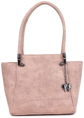 Butterflies Women Handbag (Dusty Peach) (BNS 0660DTPCH)