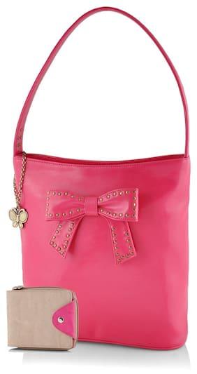 Butterflies Women Pink & Cream Combo's (bns Wb0196