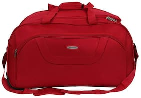 ARISTOCRAT Cabin Size Soft Luggage Bag ( Red , 2 Wheels )