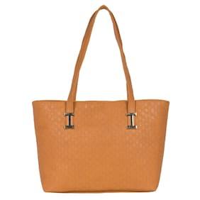 Cappuccino 24003A Tan Handbag (Pack Of 5)