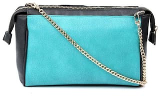 cappuccino 22091Teal SLING BAGS (Pack Of 5)