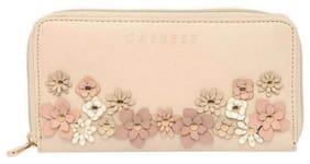 CAPRESE Women Beige Leather Wallet