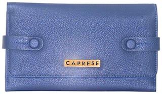 Caprese Brenda Passport Holder Large Blue