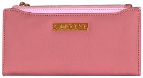 Caprese Brenda Wallet Medium Pink