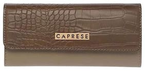 CAPRESE Women Brown Leather Wallet