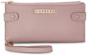 Caprese Carrie Zip Fold Wallet Medium Skin