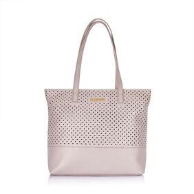 CAPRESE Women Faux Leather Handheld Bag - Pink