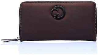 CAPRESE Women Brown PU Wallet