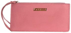 Caprese Grenda Mobile Pouch Medium Pink