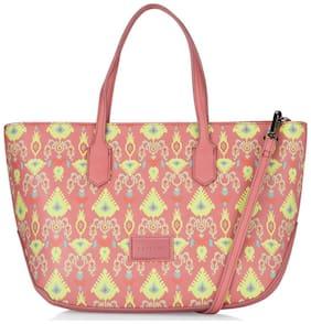 CAPRESE Pink Faux Leather Handheld Bag