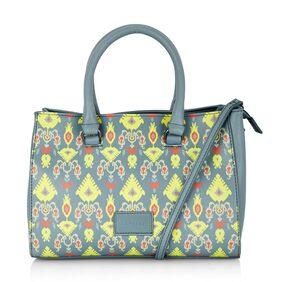 CAPRESE Women Faux Leather Handheld Bag - Blue