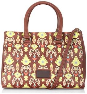 Small Handheld Bag ( Brown )