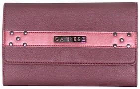 Caprese Kia Passport Holder Large Plum