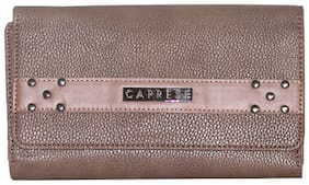Caprese Kia Passport Holder Large Brown