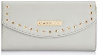 Caprese Lian Wallet Medium Light Grey