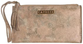 CAPRESE Women Faux Leather Wallet - Gold