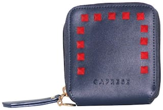 Caprese Lola Wallet Small Navy