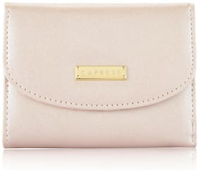 CAPRESE Nelly Wallet Small Metallic Soft Pink