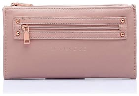 CAPRESE Women Pink Leather Wallet