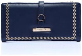 CAPRESE Poppy Fold Wallet Medium Navy