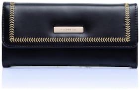 CAPRESE Poppy 3-Fold Wallet Large Black