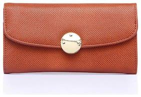 CAPRESE Women Red Leather Wallet