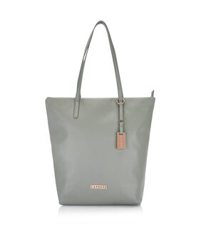 CAPRESE Women Faux Leather Tote Bag - Grey